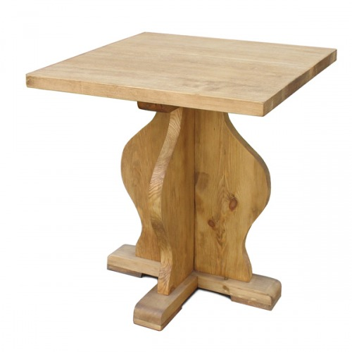 Стол квадратный 80х80 Table sans allonges